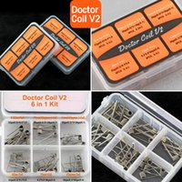 Wholesale kit doctor for sale - Group buy 2 Doctor Coil in Kit Authentic Pre built Coils S Alien Clapton Tiger Vaporizer Heating Wire