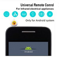 Wholesale 10pcs Pocket Mobile Phone Smart Remote Control IR wireless only for Android use for Air Conditioner TV DVD Home Appliances