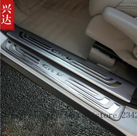 Wholesale Honda Door Sill - Accessories For Honda CRV CR-V CR V 2012 2013 2014 2015 2016 Door Sill Scuff Sill Plate Step Cover Trim Protector Pads Styling