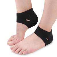 Wholesale Pc Massager - 10 pcs Breathable Heel Socks Moisturising Cracked Heel Protectors Maintenance Foot Heel Protection Foot Care Products