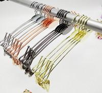 Wholesale Hangers For Underwear - Hangerworld Most Popular Chromed Metal Lingerie Hanger for Bra,Underwear, Bra Hanger, Underwear Hanger with Big Hook LLFA