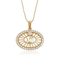 Wholesale Gorgeous Jewelry Boxes - Xuping Brand Gorgeous Religion Cross 18k Gold Color Cublic Zirconia Copper Jewelry Pendant Boxing Day Gift Wholesale DH28-32764