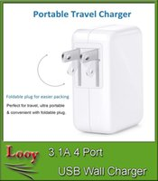 Wholesale 3 A USB plug Wall Charger Port USB AC Adapter US EU Wall Charger for Samsung Iphone