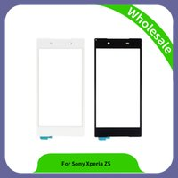 Wholesale Xperia Screen Replacement - Phone Parts 5.2 inch Touch Screen For Sony Xperia Z5 Touch Screen Digitizer Sensor Panel Replacement For SONY Xperia Z5