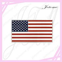 drapeau de la chine achat en gros de-100 PCS / Lot 2017 Vente Chaude En Gros Chine Usine Fabriqué USA Officiel Drapeau Américain Pin Pour Patriotisme