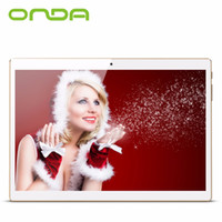 Wholesale Tablet Pc Gps Onda - Wholesale- Onda V10 3G Phablet 10.1 inch IPS Screen Android 5.1 MTK8321 1.3GHz Quad Core 1GB RAM 16GB eMMC Dual Cameras GPS phone tablet