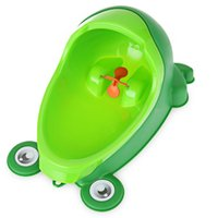 Wholesale Potty Toddler Urinal - Baby Boy Potty Toilet Training Frog Children Stand Vertical Urinal Boys Penico Pee Infant Toddler Wall-Mounted Urinals