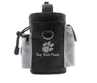 Wholesale function training - Multi Function Dogs Treat Pouch For Training Snacks Disposable Bag Black Outdoor Essential High Quality Hot Sell 15 8cr R