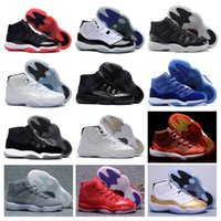 Wholesale Cheap White Lights - Wholesale Retro 11 Basketball Shoes space jam retro 11 JXI Sports Shoes Pantone legend Bred Sneakers Womens Athletics Cheap Shoes Men Boost