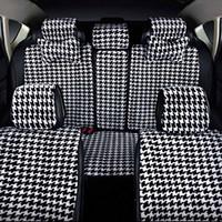 Wholesale Car Seat Cushions Plush - High quality universal four seasons car seat cover new plush health car cushion for automotive interiors