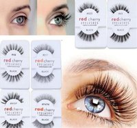 c48aa91e8c9 Wholesale red cherry lashes resale online - High Quality RED CHERRY False  Eyelashes Natural Long Eye