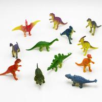 Wholesale Simulation Animal Toys - wholesale New Arrival 120pcs lot PVC simulation super mini Jurassic Dinosaur Action Figure Toy