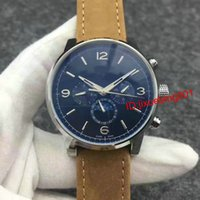 Wholesale Moon Phase Swiss - Luxury Tourbillon Moon Phase Automatic men watches Stainless steel leather casual Self Wind Wholesale Men's swiss Watch wristwatch