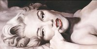 Wholesale Marilyn Monroe Framed Art - Framed MARILYN MONROE,Pure Handpainted Portrait Art Oil Painting On Quality Canvas Wall Decor Multi Sizes Free Shipping P0048