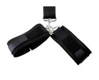 ingrosso cravatte del polso del sesso-Giocattoli sessuali giocattoli alternativi polsi anti-dorsale con manette per uomini e donne legati con sfere in silicone SM impacchettate