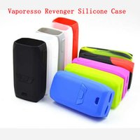 Wholesale Mod Sleeves - Hot Vaporesso Revenger Starter Kits Silicone Case Rubber Sleeve Protective Cover Skin For Vaporesso Revenger 220w TC Vape Mod e cigs