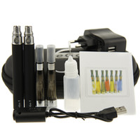 Wholesale Ego Kit Ce4 Atomizer 2pcs - Double EGO CE4 plus Electronic Cigarette Kits 2pcs ce4 plus atomizer 2pcs ego t battery in zipper case large e cigs kit