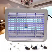 Wholesale Fly Trap Light - White 220V 1W Home LED Light Electronic Indoor Mosquito Insect Killer Bug Fly Zapper Trap for living room, bedroom,kitchen