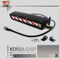 Wholesale Cheap Offroad Led - LYC For Toyota Car Light Led Light Bar Cheap Led Lighting in Cars For Offroad   constructiles   pickup  SUV Auto Parts 10Inches