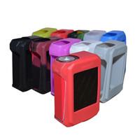 Wholesale E Cig Covers - For SMOK G-PRIV 220W E cig Electronic cigarette Silicone Case Skin Cover Bag Pocket Pouch Accessories Box Case