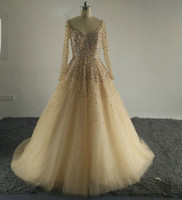 Wholesale real stone flooring - Ivanka Trump Sexy V Neck Evening Dress Bling Bling Bead Stones Bodice Formal Gowns