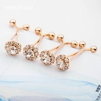 Wholesale Elegant Flower Brooch Pin - SP59 Fashion elegant gold flower hijab pins brooches for women classic broches simple hijab pinsbrooches libelula spille
