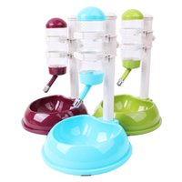 Wholesale Dog Drink Dispenser - New arrival Pet Dog Cat Bowl, Automatic Water Dispenser Feeder Utensils Bowl, Drinking Fountain Food Dish