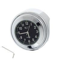 Wholesale Handlebars Clock - Universal Waterproof 7 8 Motorcycle Bike Handlebar Mount Clock Watch SV
