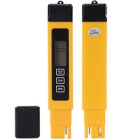 probador de tds ppm al por mayor-20 unids / lote Multi-parámetro de Agua TDS Monitor Tester Tipo de Pluma Medidor de TEMPERATURA Bebida Analizador de Pureza de Calidad del Agua 0-9999 ppm