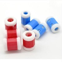 Wholesale Knitting Counter - 2PCS lot Convenient Plastic Crochet Knitting Row Counter Round Stitch Tally Knitter Needle Free Shipping