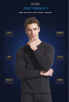 Wholesale Cheap Men Pajamas - 2017 men thermal underwear suits The new style of qiu dong with velvet Thickening render cotton pajamas Sold on the cheap