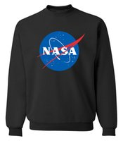 Wholesale Natural High Import - NASA The Martian Matt Damon hoodies Men High Quality O Neck sweatshirt 2017 IMPORT SPACE funny tracksuits autumn fleece pullover