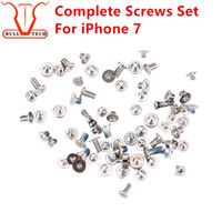 """Wholesale Iphone Dock Screws - For iPhone 7 Full Screw Set With 2 Dock Connector Bottom Torx Screws Complete Sets Replacement Accessories for Apple iphone 7g 4.7"""""""