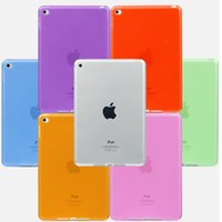 Wholesale Ipad Gel Back - Case Soft TPU Gel Silicone Bumper Case Back Skin Protective Cover For iPad Air Pro Mini 1 2 3 4 9.7 12.9