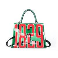 Wholesale Hot Girls Transparent - New Hot Fashion Ladies 1829 Transparent Jelly Letter Bag Shoulder Crossbody Top Handle Travel Clear Beach Bags Women Designer Handbags