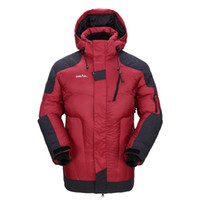 Vente en gros- GRAIL Outdoor Heavy Down Jacket Winter Multifunctional Coat Hommes Ski Snowboard Suit imperméable Wind Stopper Jacket 6501A