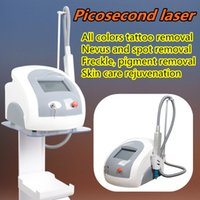 Wholesale Head Light Lens - picosecond q switch laser tattoo machine picosecond tattoo nd yag laser portable tattoo removal light Indicator 755 lens array head