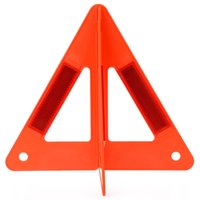 Wholesale Emergency Warning Triangle - Auto Car Safety Emergency Reflective Caution Warning Triangle for Help Foldable Roadway Highway Sign Stand 181375601