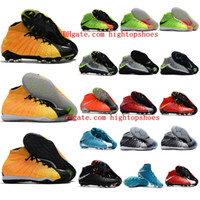 Wholesale Ic Cream - 2018 soccer shoes indoor mens football boots HypervenomX Proximo II DF TF IC original soccer cleats Hypervenom Phantom III neymar boots hot