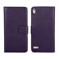 Wholesale Huawei Ascend P6 Case Cover - PU Leather Flip Cover For Huawei Ascend P6 Luxury Wallet case card holder holster phone shell stand