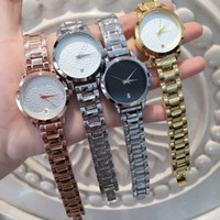 Wholesale luxury golden watch for sale - Luxury Famous designer golden women watches with date fashion luxury Dress ladies watch Ma am Watches