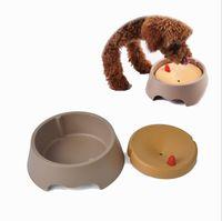 Wholesale Wet Cups - Pet cat dog splash water bowl not wet beard anti overflow water dispenser bowl free shipping