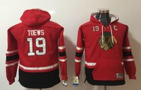 Wholesale kids hockey hoodies for sale - Group buy New Blackhawks Youth Hoodies Jerseys Toews Kane Kids Hockey Hoody Red Color Stitched S M L XL Hot Gift Mix Order All Jerseys