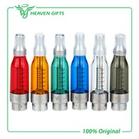 Wholesale Original Vision Clearomizer - Wholesale- Original Vision Victory BBC Tank Atomizer Cartomizer Clearomizer Kit 5ml bottom coil changeable electronic cigarette atomizer