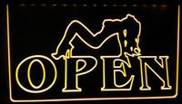 Wholesale Sexy Y Girl - LS177-y OPEN Sexy Sex GirLS Pub Bar Club Neon Light Sign.jpg