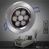 tavan ışıkları sensörü toptan satış-4 W 6 W 8 W 11 W LED hareket sensörü tavan ışık banyo koridor için Alüminyum malzeme tavan işık fikstürü aydınlatma IR Hareket lamba