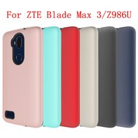 Wholesale Pro Bolts - For HTC Bolt 10 Evo ZTE MAX XL ZMax Pro 2 Blade Max 3 Z986U N9560 Armor Hybrid wrapped TPU with PC Case