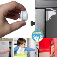 Wholesale Magnetic Child Lock Baby Safety Cabinet Lock Children Protection Kids Drawer Locker Baby Security Cupboard Childproof Locks