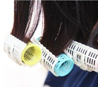 3 Pcs / Set Cabelo plástico Hair Roller Grip Styling Roller Curlers Cabeleireiro DIY Ferramentas Styling Home Use Hair Rollers