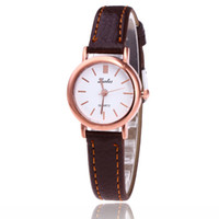 Wholesale Good Contracts - Free shipping wholesale Han edition fashionable ladies watch SThe new fashion watches Contracted fashion women's watches good leather small